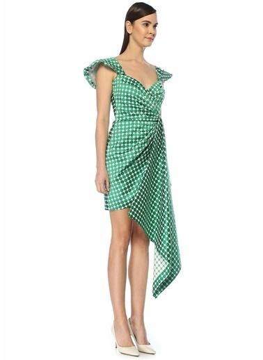 Tadashi Shoji Elbise Yeşil